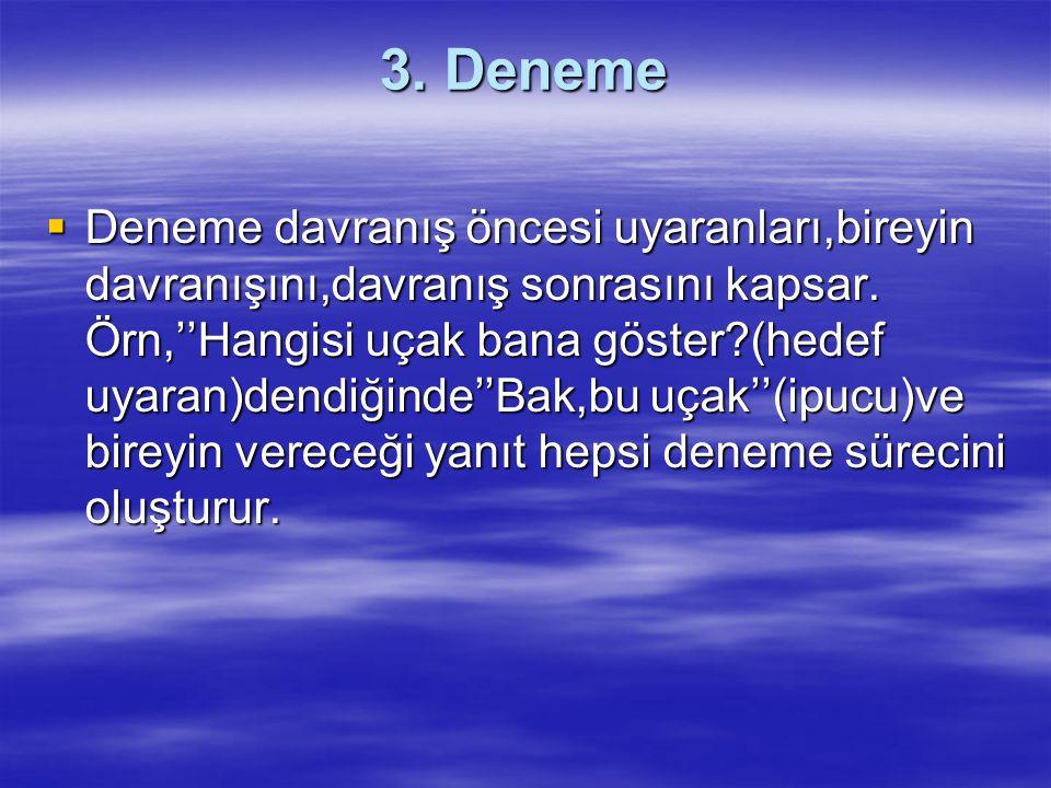 3. Deneme