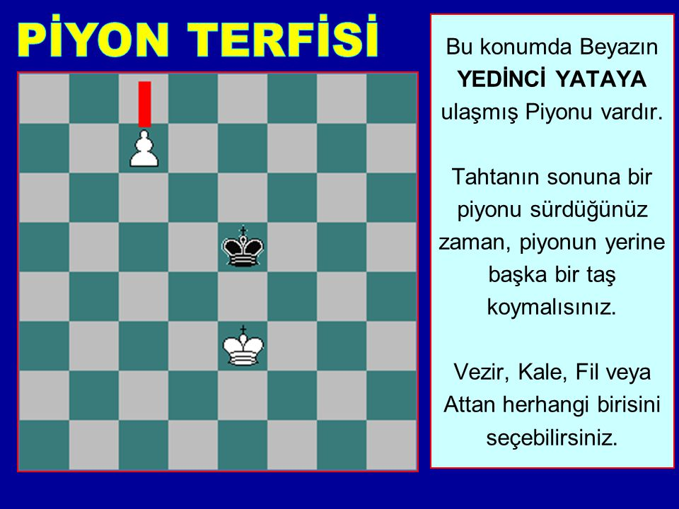 PİYON TERFİSİ