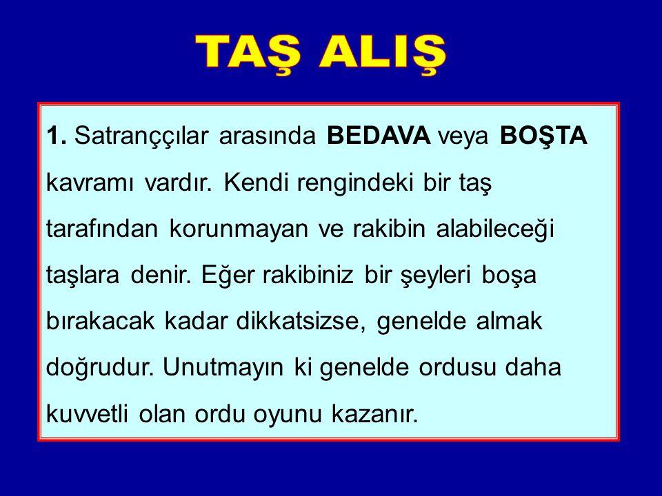 TAŞ ALIŞ