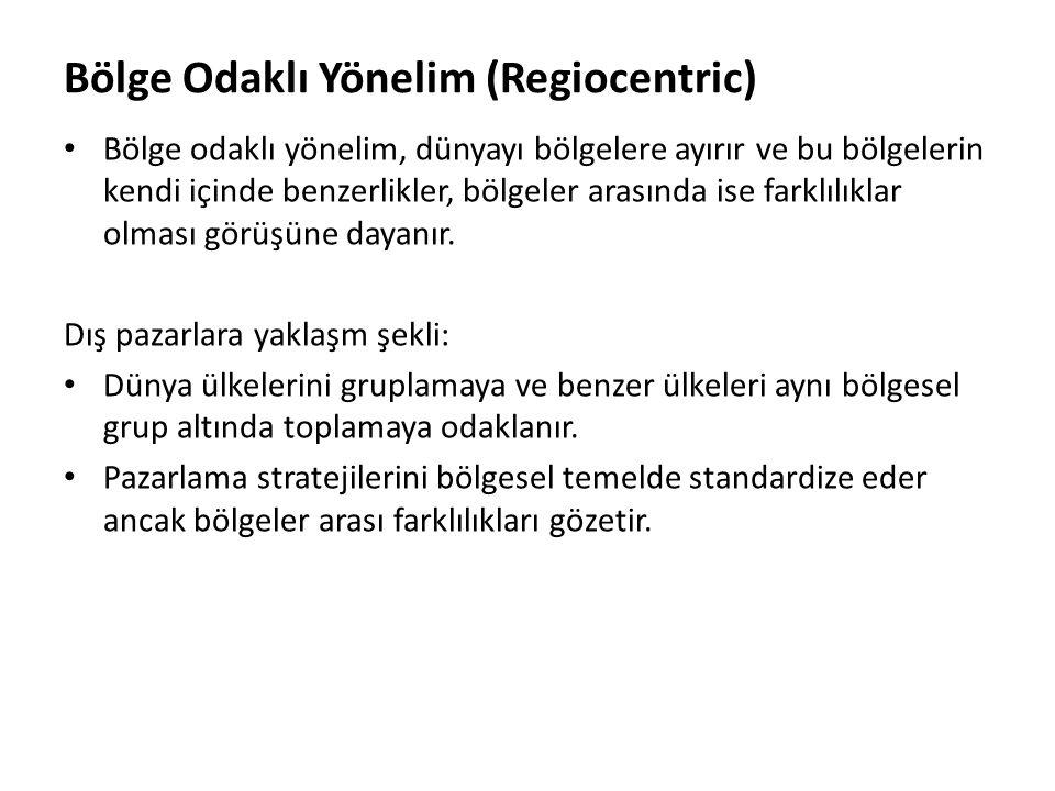 Bölge Odaklı Yönelim (Regiocentric)