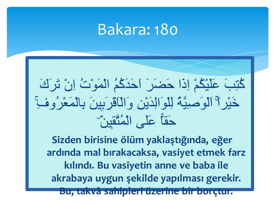 Bakara: 180