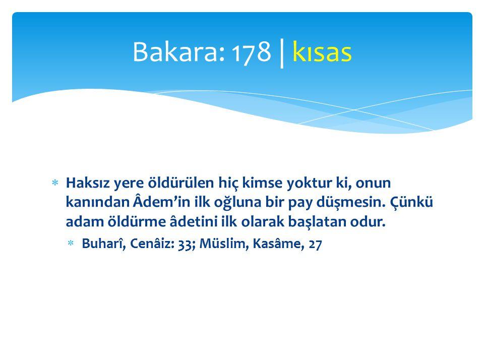 Bakara: 178 | kısas
