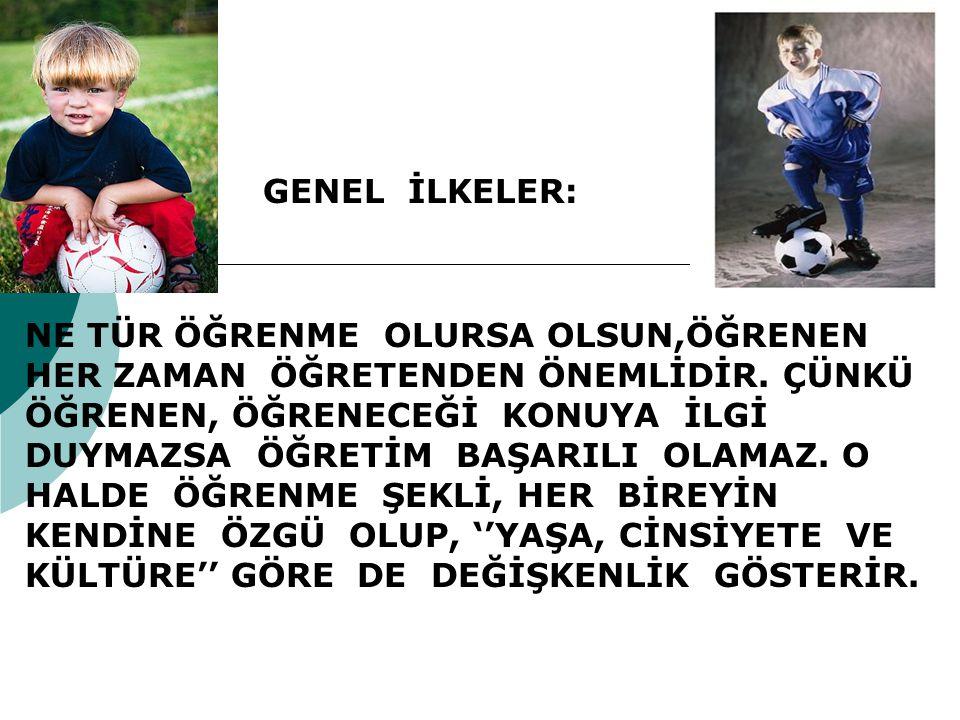 GENEL İLKELER: