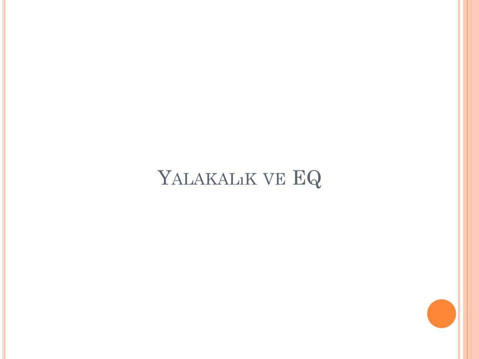Yalakalık ve EQ