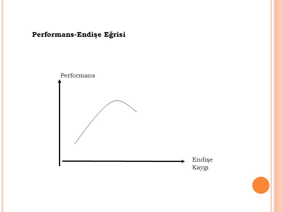 Performans-Endişe Eğrisi