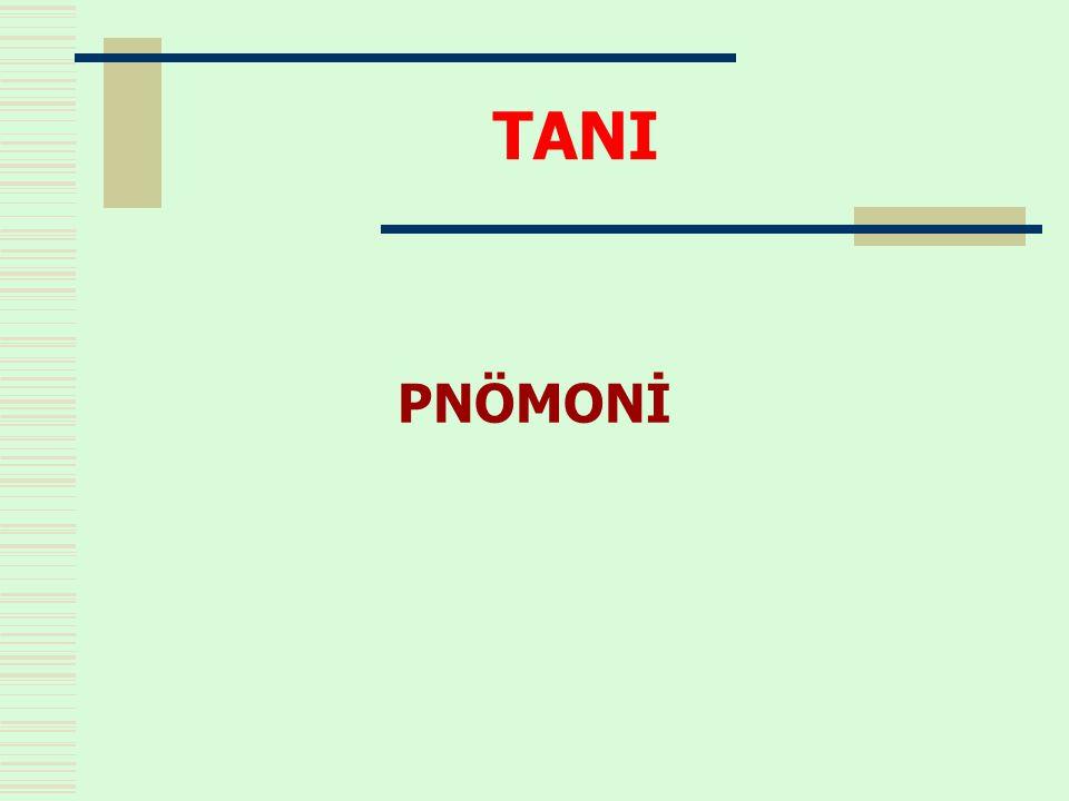 TANI PNÖMONİ