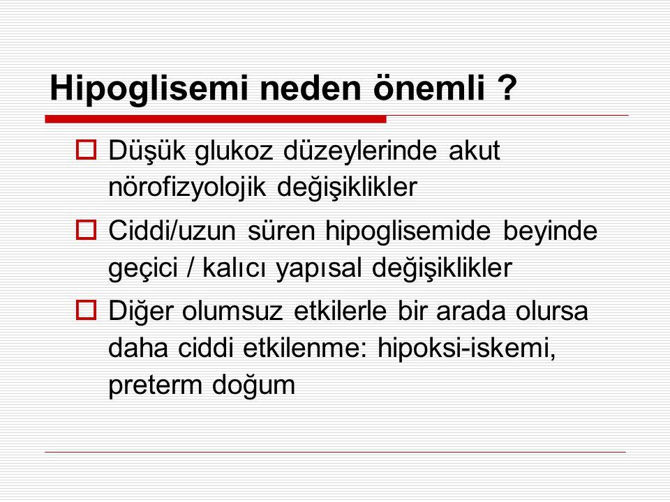 Hipoglisemi neden önemli
