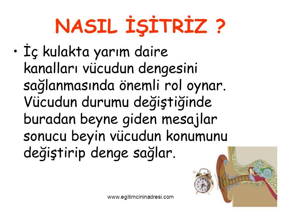 NASIL İŞİTRİZ