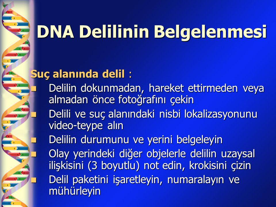 DNA Delilinin Belgelenmesi