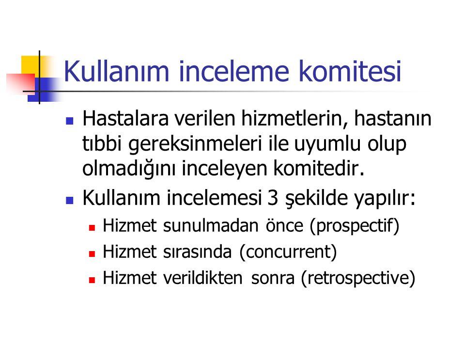 Kullanım inceleme komitesi