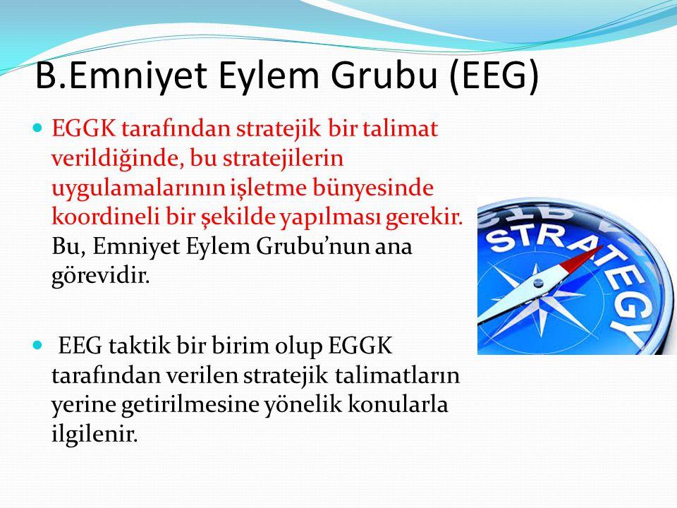 B.Emniyet Eylem Grubu (EEG)