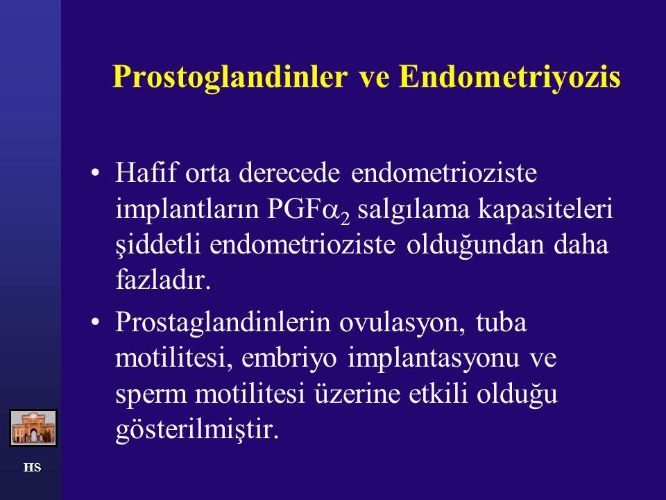 Prostoglandinler ve Endometriyozis