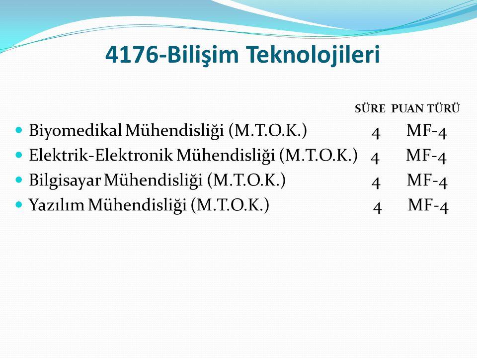 4176-Bilişim Teknolojileri