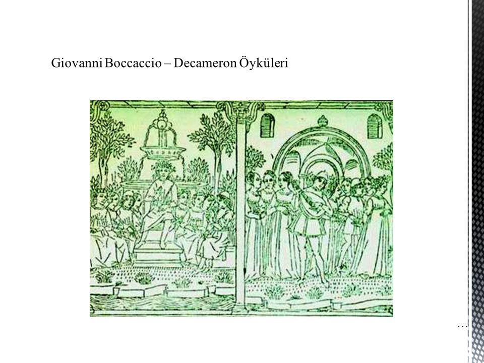 Giovanni Boccaccio – Decameron Öyküleri