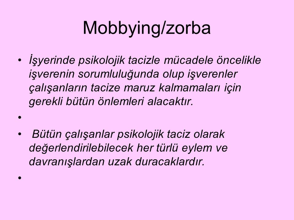 Mobbying/zorba