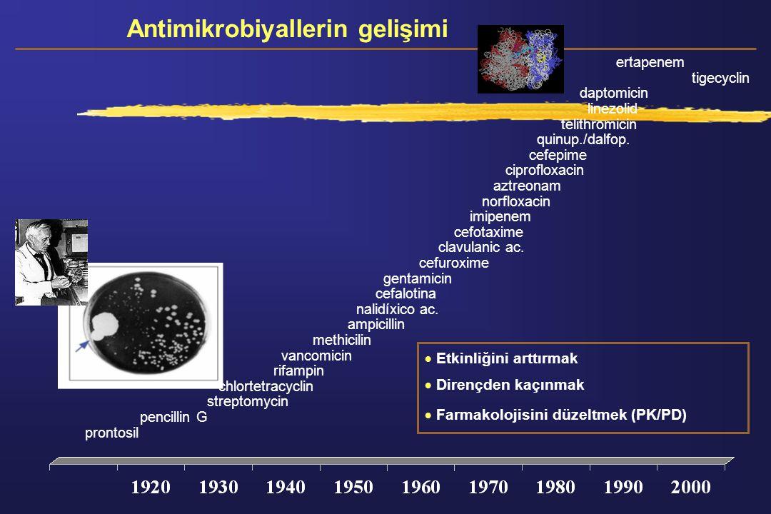Antimikrobiyallerin gelişimi