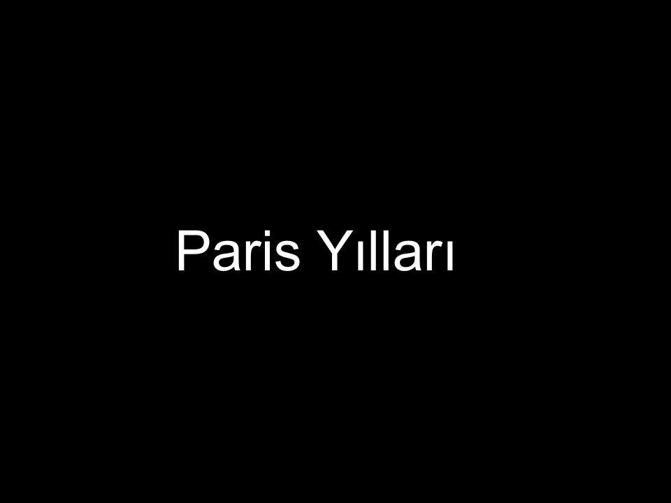 Paris Yılları