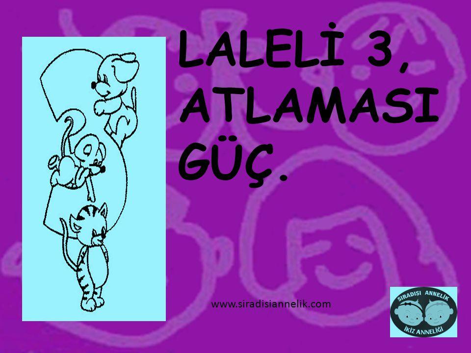 LALELİ 3, ATLAMASI GÜÇ. www.siradisiannelik.com
