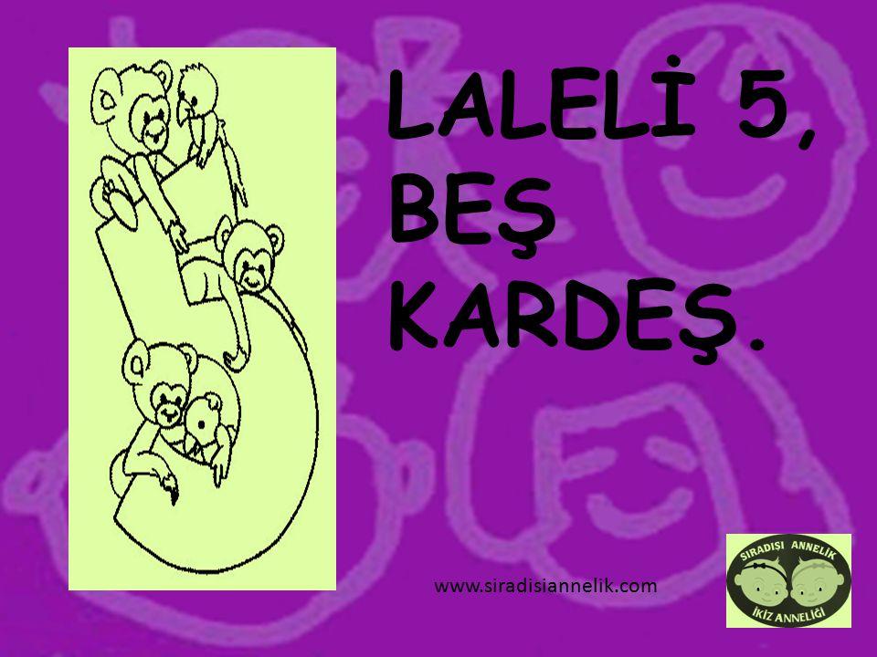 LALELİ 5, BEŞ KARDEŞ. www.siradisiannelik.com