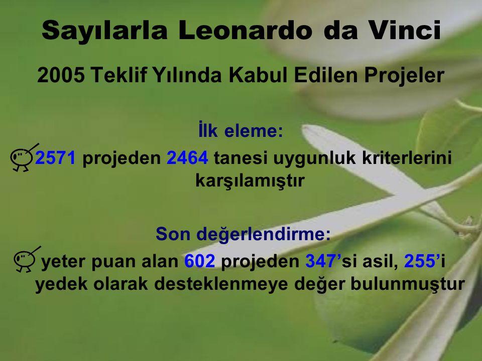 Sayılarla Leonardo da Vinci