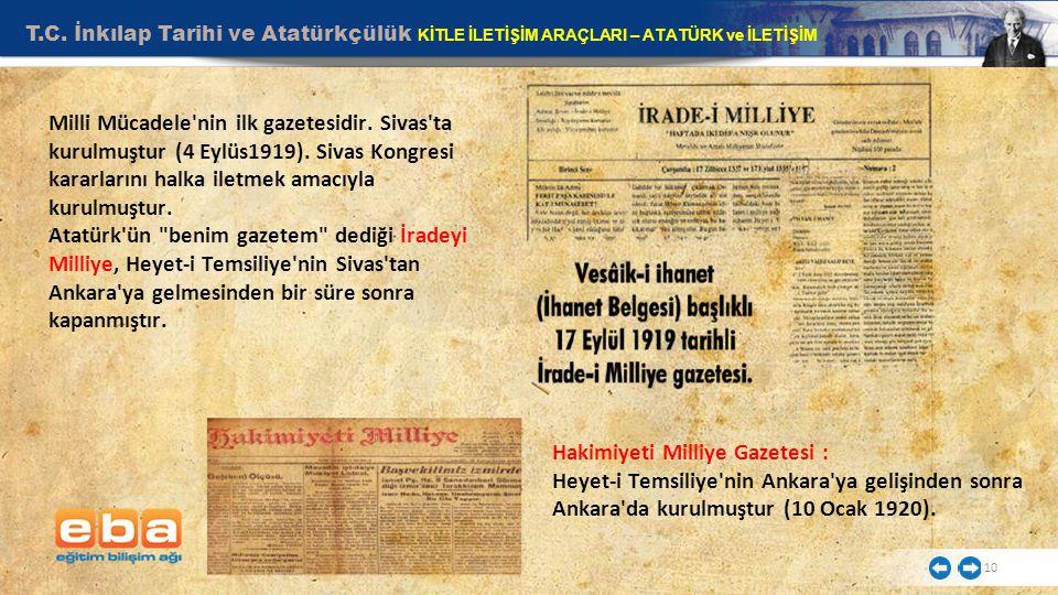 Hakimiyeti Milliye Gazetesi :