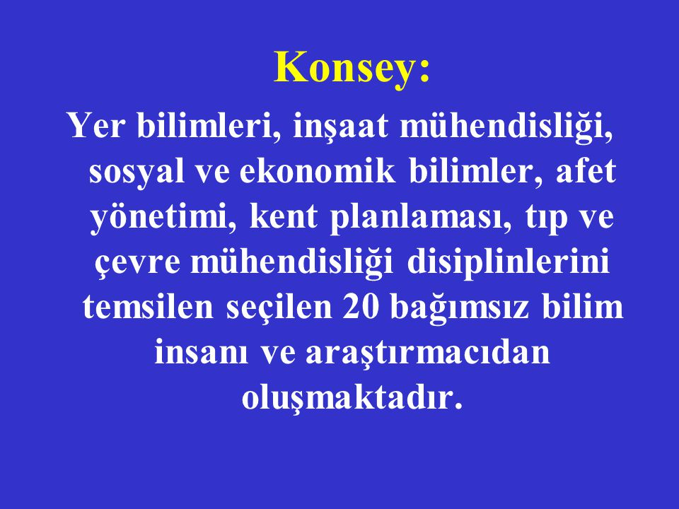 Konsey: