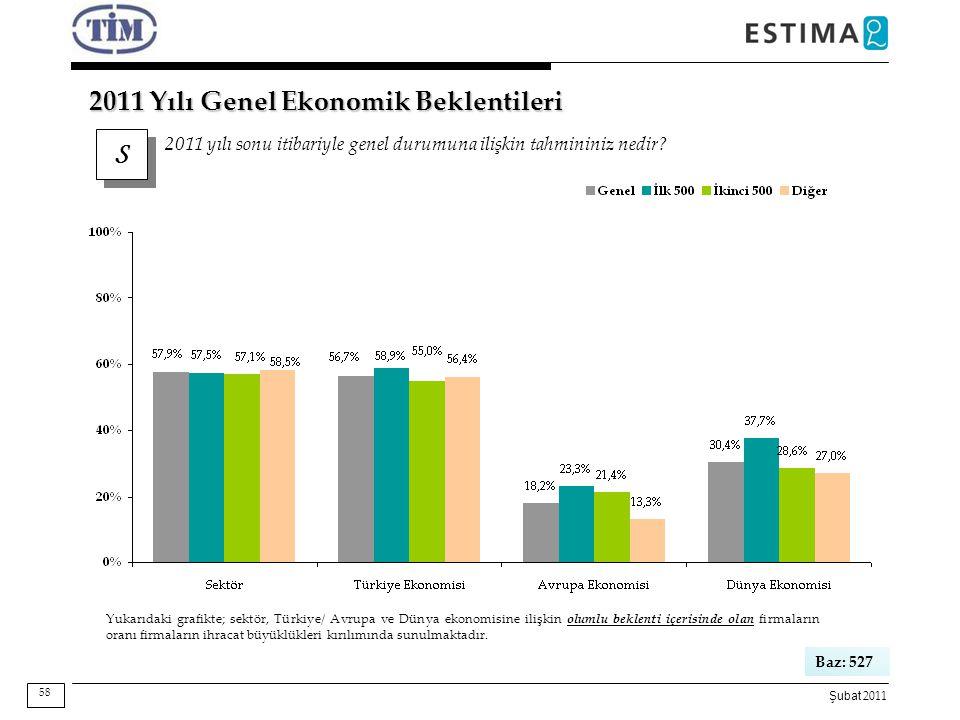2011 Yılı Genel Ekonomik Beklentileri