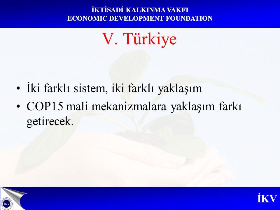 V. Türkiye İki farklı sistem, iki farklı yaklaşım