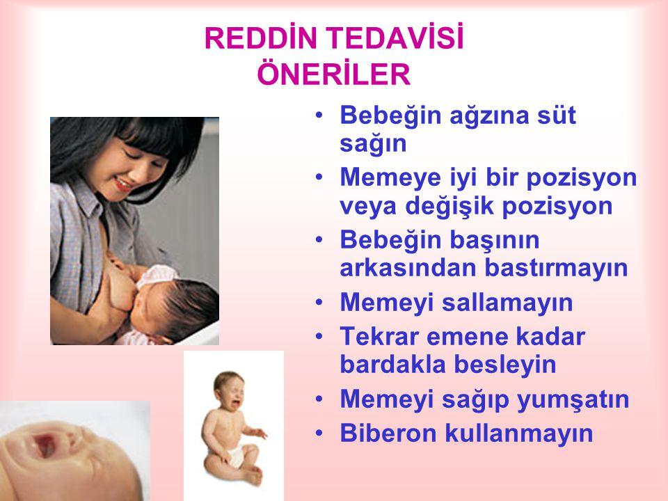 REDDİN TEDAVİSİ ÖNERİLER