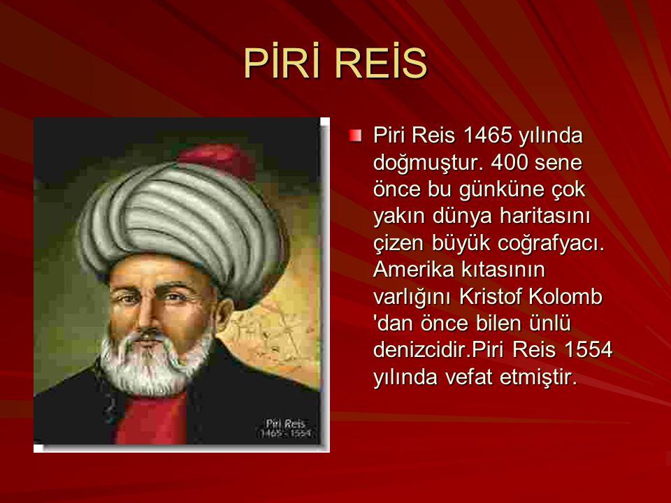 PİRİ REİS