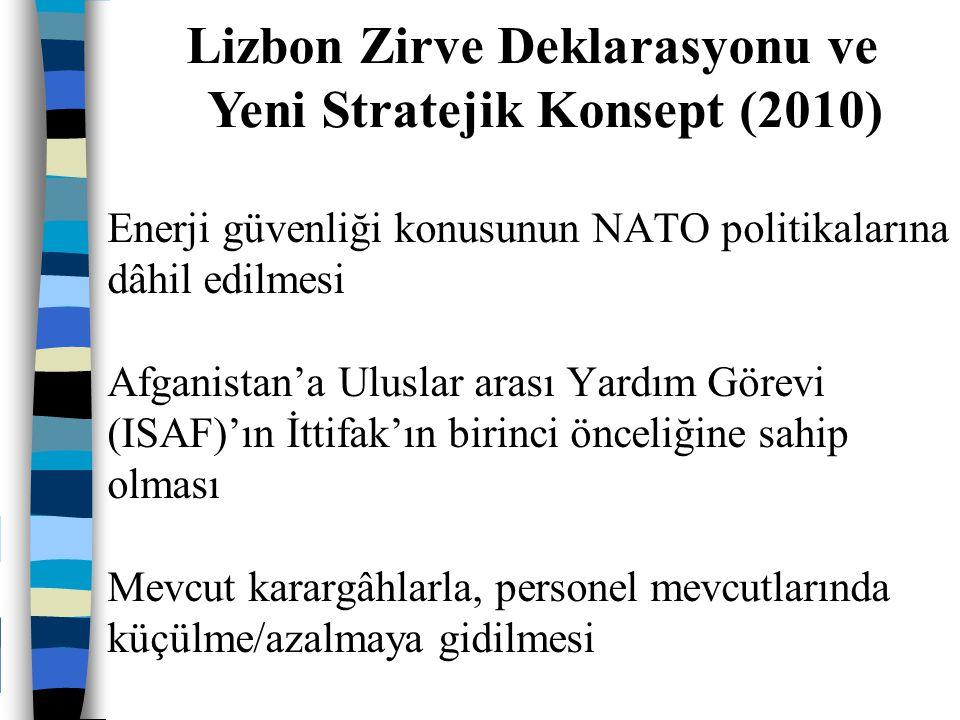 Lizbon Zirve Deklarasyonu ve Yeni Stratejik Konsept (2010)