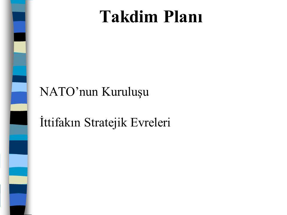 NATO'nun Kuruluşu İttifakın Stratejik Evreleri