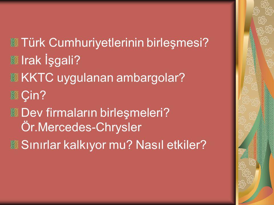Türk Cumhuriyetlerinin birleşmesi