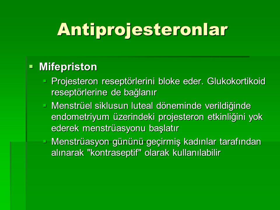 Antiprojesteronlar Mifepriston