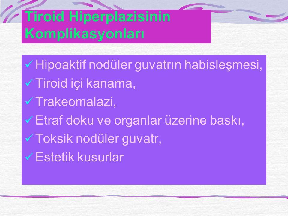 Tiroid Hiperplazisinin Komplikasyonları