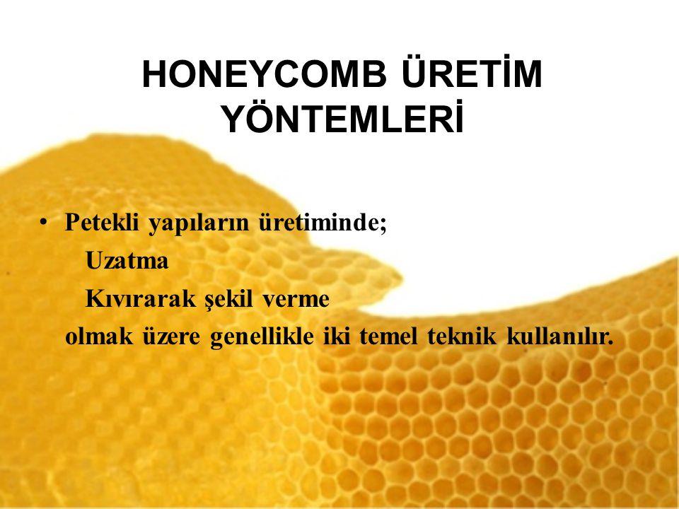 HONEYCOMB ÜRETİM YÖNTEMLERİ