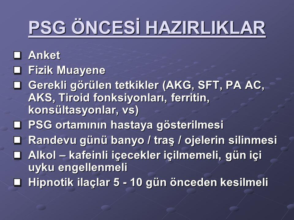 PSG ÖNCESİ HAZIRLIKLAR