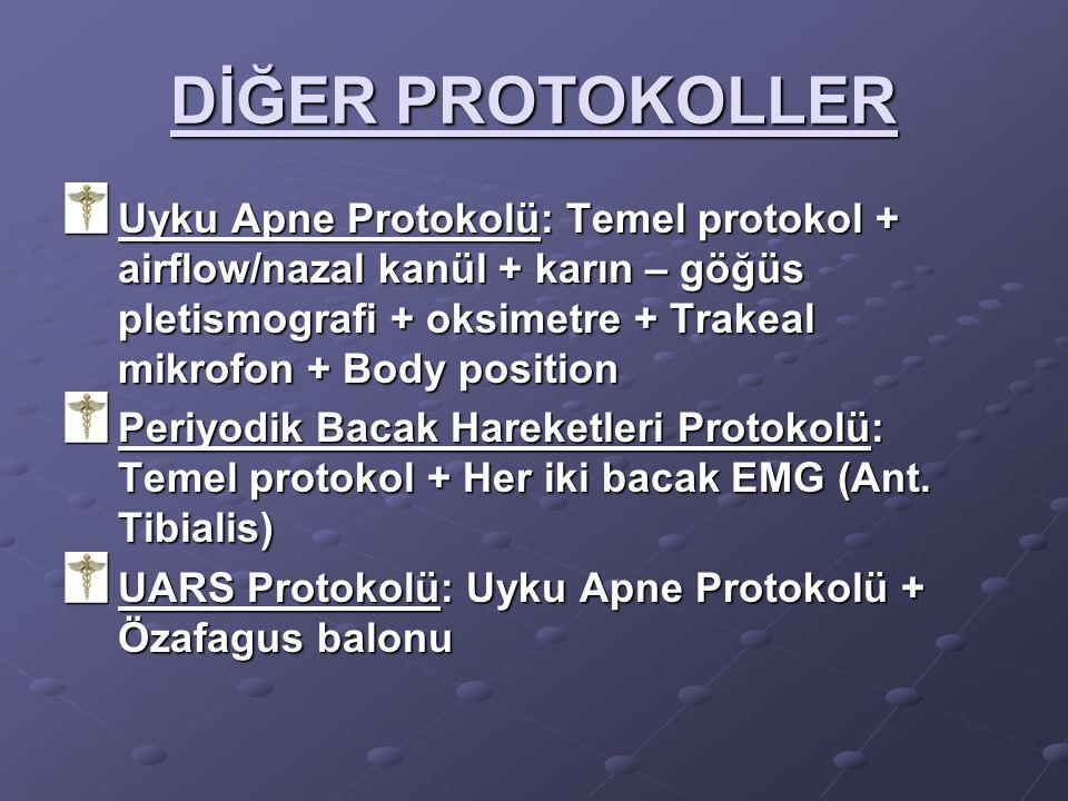 DİĞER PROTOKOLLER