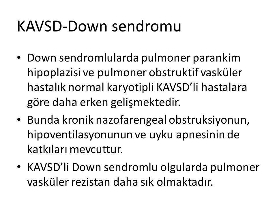 KAVSD-Down sendromu