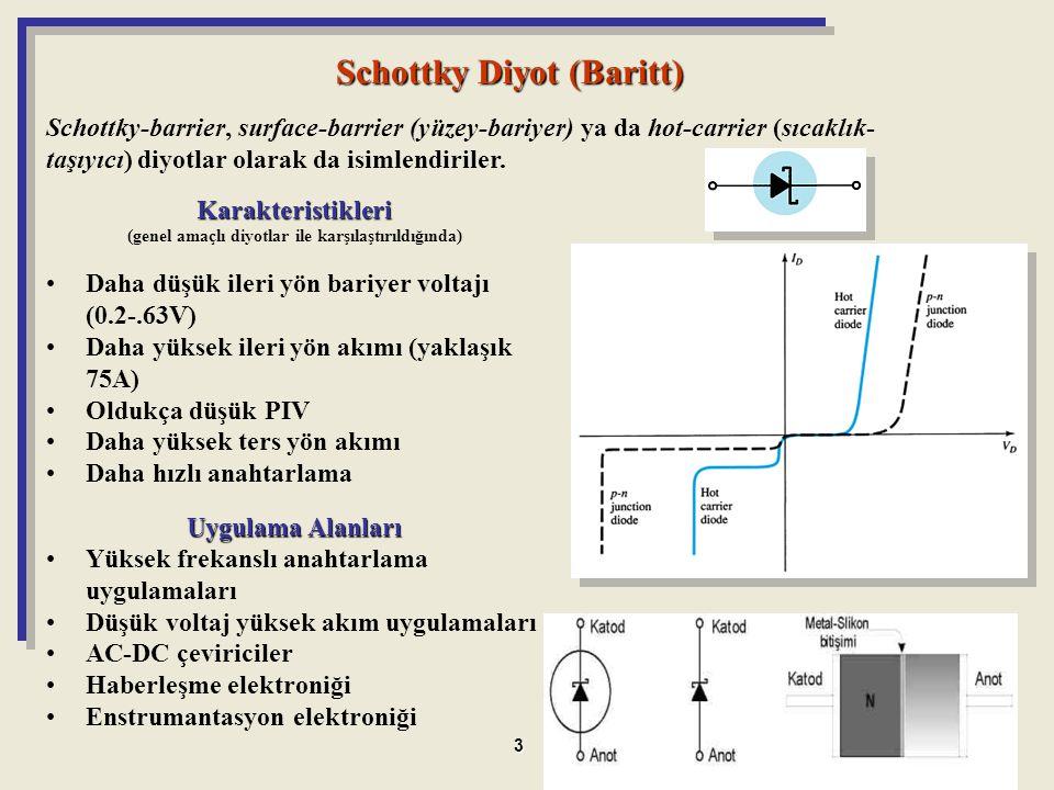 Schottky Diyot (Baritt)
