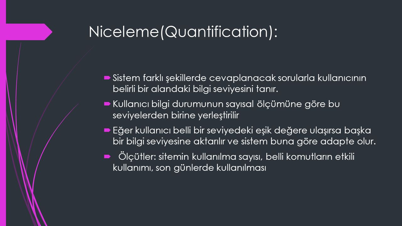 Niceleme(Quantification):