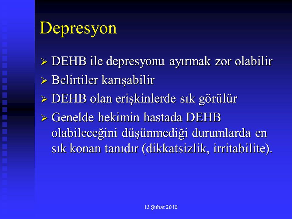 Depresyon DEHB ile depresyonu ayırmak zor olabilir