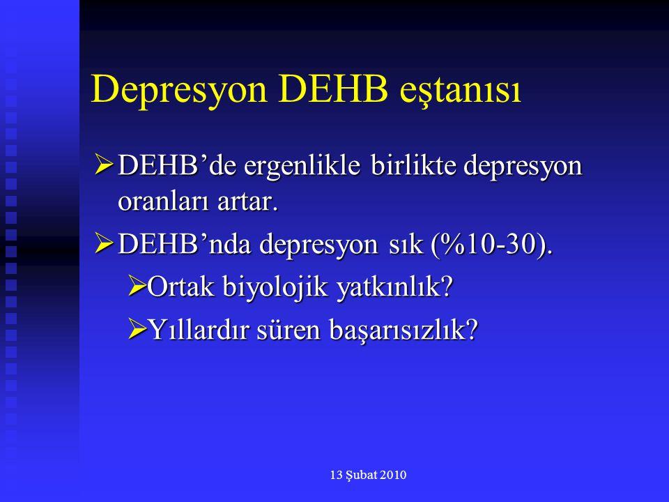 Depresyon DEHB eştanısı