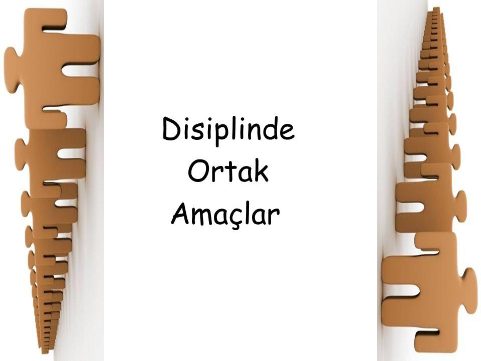 Disiplinde Ortak Amaçlar