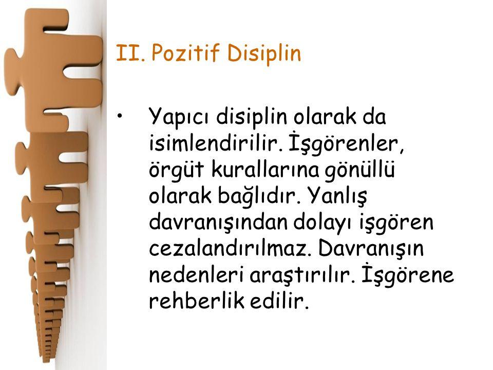 II. Pozitif Disiplin