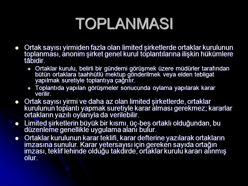TOPLANMASI