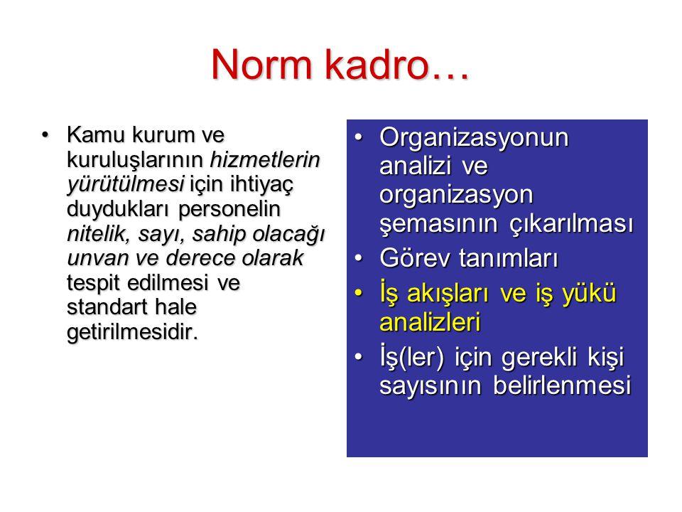 Norm kadro…