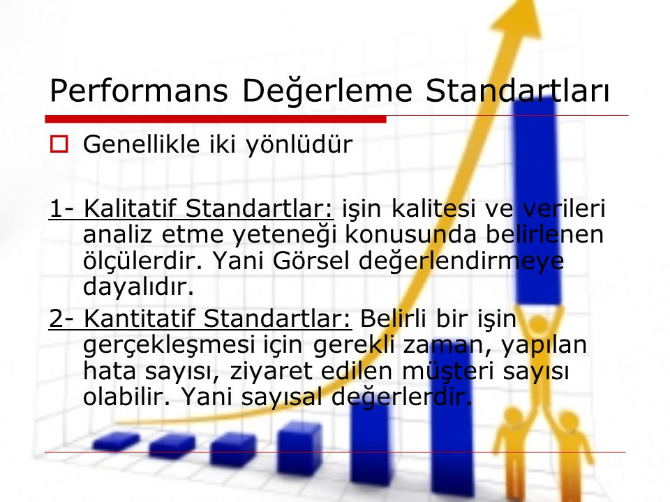 Performans Değerleme Standartları