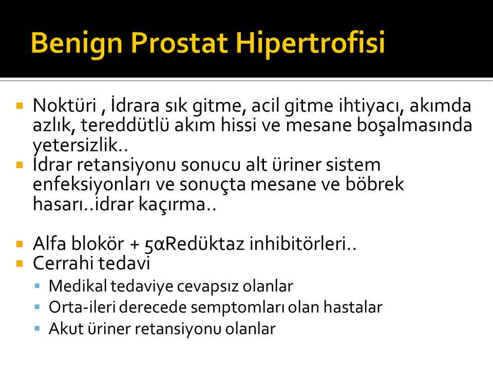 Benign Prostat Hipertrofisi