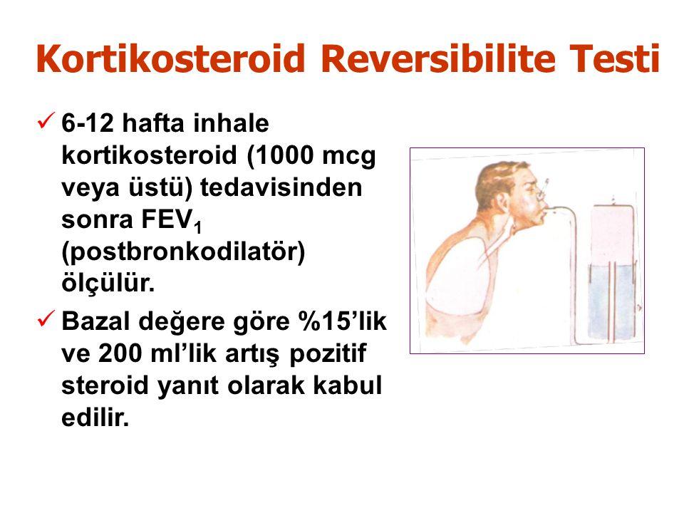 Kortikosteroid Reversibilite Testi